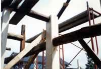 基礎工事柱補強